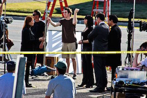 Criminal Minds on Set